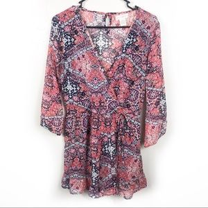 Band of Gypsies | Long Sleeve Romper Size Small
